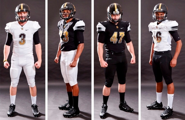 sports shoes 1e8c4 8d211 Football Unveils New Uniforms for 2015 - West Virginia State ...